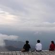 剣山・山頂のテラス